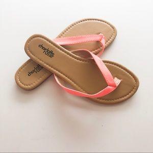 Charlotte Russe Shoes - Charlotte Russe Capri Pat Flip Flop • Size 6